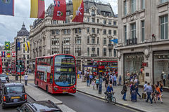 Oxford Circus Station Royalty Free Stock Photo