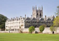 Oxford City in England Royalty Free Stock Photos