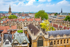 Oxford City. England Royalty Free Stock Photos