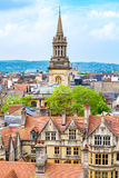 Oxford city. England Royalty Free Stock Images
