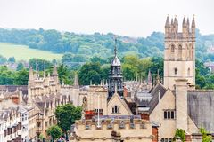 Oxford cityscape. England Royalty Free Stock Images