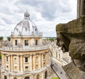 Oxford in cloudy day Stock Photography
