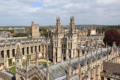 Oxford - Codrington Library Royalty Free Stock Photos