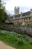 Oxford college Stock Image