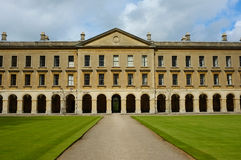 Oxford College facade Stock Image