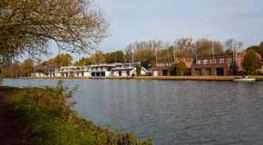 Oxford College rowing club Stock Photo