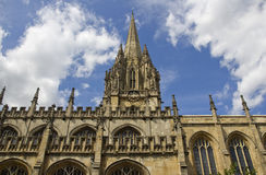 Oxford College, UK Royalty Free Stock Images