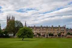 Oxford College, UK Royalty Free Stock Image