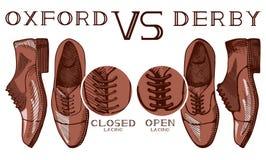 Oxford CONTRA derby Imagen de archivo libre de regalías
