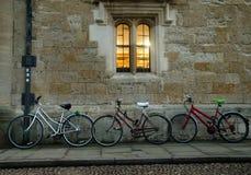 Oxford cyklar Royaltyfria Foton
