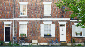 Oxford Dormitory in the silent morning Stock Image