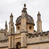 Architecture of Oxford, England, United Kingdom. OXFORD, ENGLAND - JULY 10, 2016: Hertford College, Oxford, England. Oxford is known as the home of the Royalty Free Stock Photos
