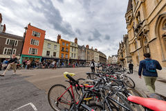 OXFORD, ENGLAND - JULY 15 2017 - Tourists in University town one of most visited in the world Stock Image