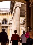 Oxford. England. UK. Ashmolean Museum. Oxford, UK - June 08, 2015: Ashmolean Museum of Art and Archaeology . It is the world`s first university museum Royalty Free Stock Photos