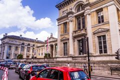 Oxford. England. UK. Ashmolean Museum. Oxford, UK - June 08, 2015: Ashmolean Museum of Art and Archaeology . It is the world`s first university museum Stock Photography