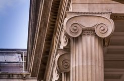 Oxford. England. UK. Ashmolean Museum. Oxford, UK - June 08, 2015:Column. Ashmolean Museum of Art and Archaeology . It is the world`s first university museum Stock Images