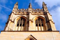 Oxford-Gebäude Stockfotos