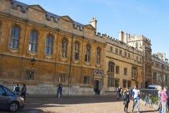 Oxford, Großbritannien - 13. Oktober 2018: Stadtgebäude bekannt als das Haus University of Oxfords stockfotos