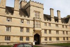 Oxford, Großbritannien - 13. Oktober 2018: Stadtgebäude bekannt als das Haus University of Oxfords lizenzfreies stockbild