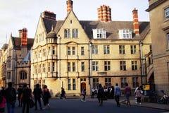 Oxford, Großbritannien - 13. Oktober 2018: Stadtgebäude bekannt als das Haus University of Oxfords lizenzfreies stockfoto