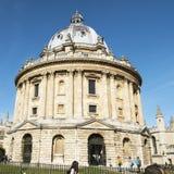 Oxford, het Verenigd Koninkrijk 13 oktober, 2018 - de Bodleian-Bibliotheek, de belangrijkste onderzoekbibliotheek van de Universi stock afbeeldingen