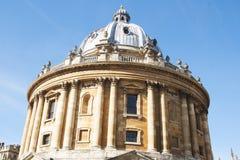 Oxford, het Verenigd Koninkrijk 13 oktober, 2018 - de Bodleian-Bibliotheek, de belangrijkste onderzoekbibliotheek van de Universi royalty-vrije stock afbeelding