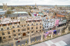 Oxford High Street and Skyline Royalty Free Stock Image
