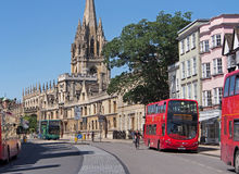 Oxford High Street Royalty Free Stock Image