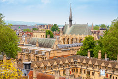 oxford l'angleterre Photo libre de droits