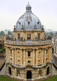 Oxford landmark. Aerial view of Radcliffe Camera, Oxford, England Royalty Free Stock Photos