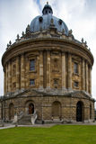 Oxford Library Stock Photo