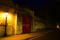 Oxford-Nacht II Stockbild