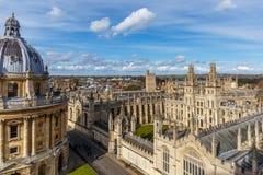 Oxford nella mattina di primavera Fotografie Stock