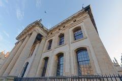 Oxford Oxford constructiva neoclasical, Inglaterra imagen de archivo libre de regalías