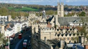 Oxford Oxfordshire, England Royaltyfria Foton