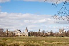 OXFORD, OXFORDSHIRE/UK - 25 DE MARZO: Vista de la Universidad de Oxford co Imagen de archivo