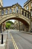 Oxford - ponticello dei sospiri - la Gran Bretagna Immagini Stock