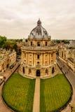 Oxford, Radcliffe kamera, uniwersytet oksford, Anglia, UK Obrazy Stock