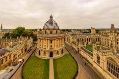 Oxford, Radcliffe kamera, uniwersytet oksford, Anglia, UK Zdjęcie Royalty Free