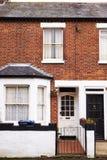 OXFORD REGNO UNITO 26 OTTOBRE 2016: Esterno delle Camere a terrazze vittoriane a Oxford Immagine Stock Libera da Diritti