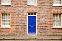 OXFORD REGNO UNITO 26 OTTOBRE 2016: Esterno delle Camere a terrazze vittoriane a Oxford Fotografia Stock Libera da Diritti