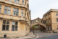 Oxford Reino Unido Foto de Stock