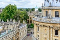 Oxford, Reino Unido - 21 de agosto, cámara de Radcliffe el 2 de agosto imagen de archivo
