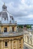 Oxford, Reino Unido - 21 de agosto, câmera de Radcliffe o 2 de agosto foto de stock royalty free