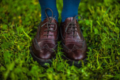 Oxford shoes Royalty Free Stock Photography