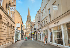 Oxford Shopping Street, England Royalty Free Stock Image