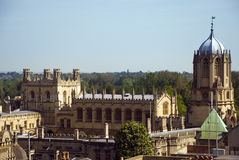 Oxford skyline Royalty Free Stock Image