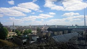 Oxford skyline stock images