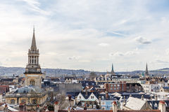 Oxford in spring morning Stock Photography