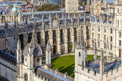 Oxford in spring morning Royalty Free Stock Images